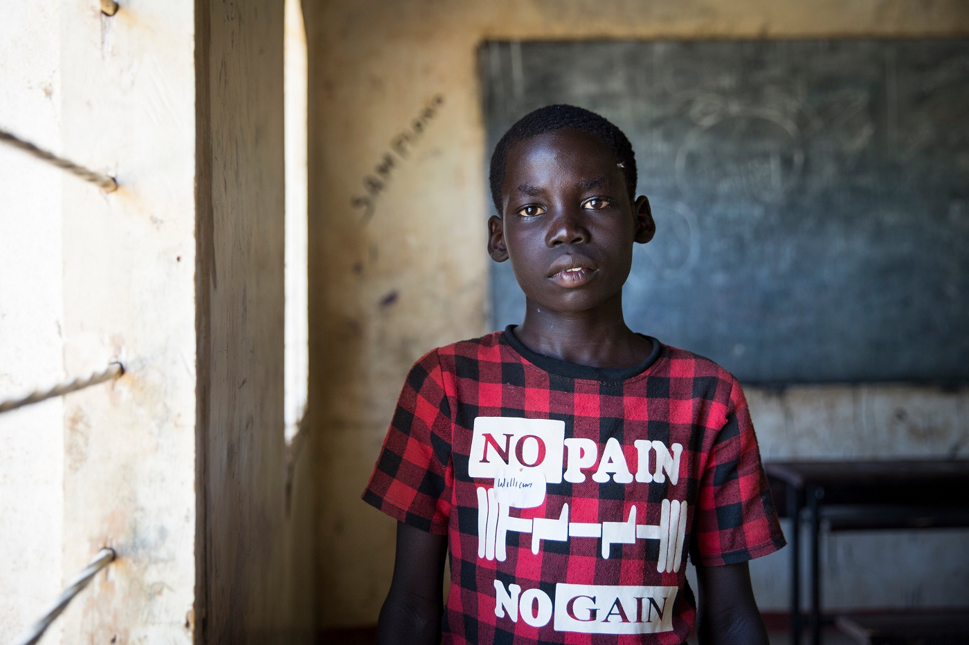 William 11, from South Sudan